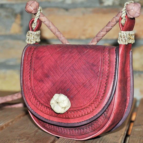 Rusztikus táskák bőrből, személyre szabva, megrendelésre